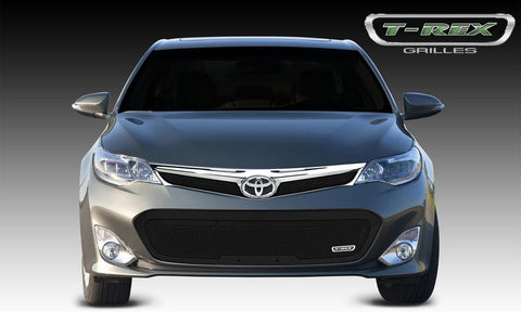 Avalon Bumper Grille 13-13 Toyota Avalon Mild Steel Powdercoat Black Upper Class Series T-REX Grilles