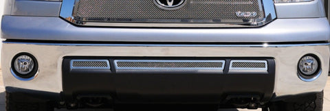 Tundra Bumper Grille 10-13 Toyota Tundra Mild Steel Powdercoat Black 3 Piece Upper Class Series T-REX Grilles