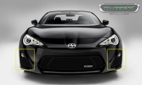 FR-S Bumper Grille 14-15 Scion FR-S Mild Steel Powdercoat Black 2 Piece Upper Class Series T-REX Grilles