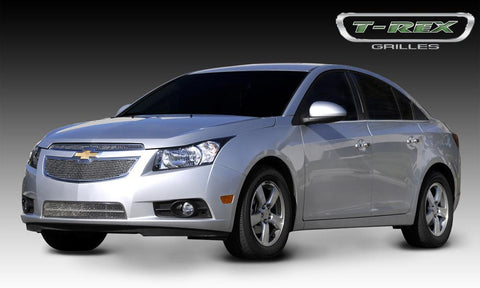 Cruze Grille 11-14 Chevrolet Cruze Stainless Polished 2 Piece Upper Class Series T-REX Grilles