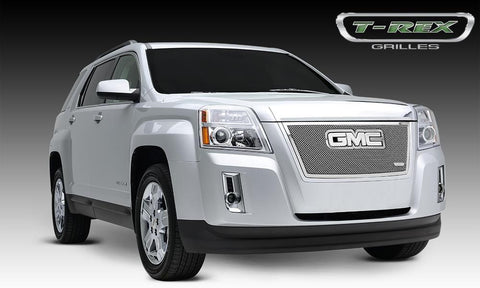 Terrain Grille 10-14 GMC Terrain Stainless Polished Upper Class Series T-REX Grilles