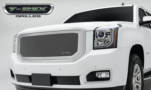Yukon Grille 15-18 GMC Yukon Stainless Polished Upper Class Series T-REX Grilles