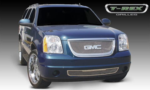 Yukon Grille 07-14 GMC Yukon Stainless Polished Upper Class Series T-REX Grilles