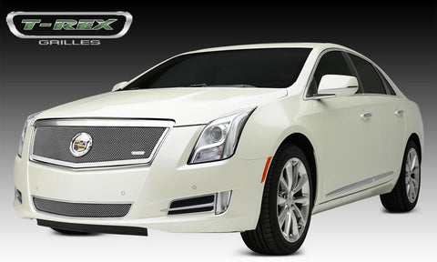 XTS Grille 13-14 Cadillac XTS Main Full Opening Stainless Polished 1 Piece Upper Class Series T-REX Grilles