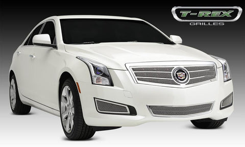 ATS Grille 13-14 Cadillac ATS Stainless Polished 1 Piece Upper Class Series T-REX Grilles