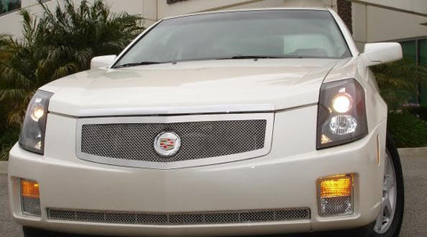 CTS Grille 03-07 Cadillac CTS Stainless Polished Upper Class Series T-REX Grilles