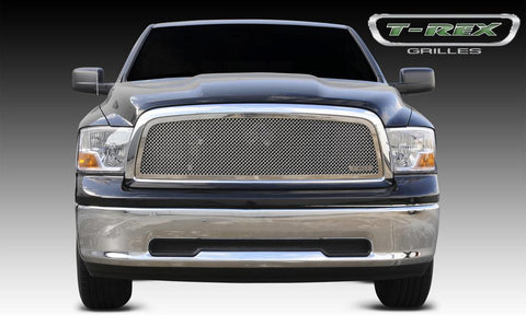 Ram 1500 Grille 09-12 Dodge Ram 1500 Stainless Polished 1 Piece Upper Class Series T-REX Grilles