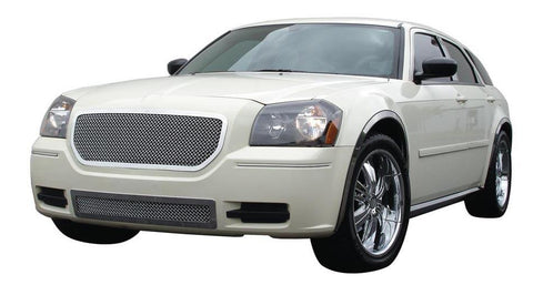 Magnum Grille 05-07 Dodge Magnum Stainless Polished Upper Class Series T-REX Grilles