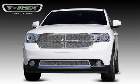 Durango Grille 11-13 Dodge Durango Stainless Polished 1 Piece Upper Class Series T-REX Grilles