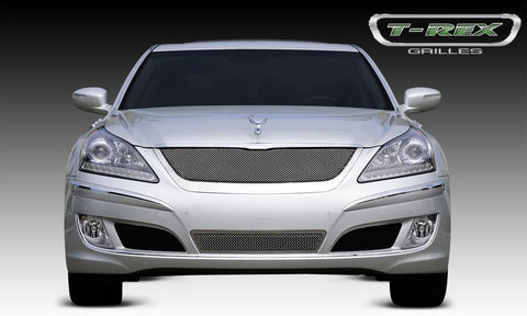 Equus Signature Grille 10-13 Hyundai Equus Signature Stainless Polished Upper Class Series T-REX Grilles