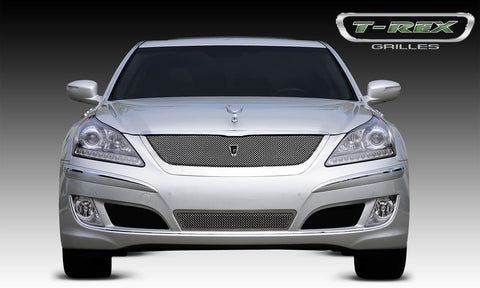 Equus Ultimate Grille 10-13 Hyundai Equus Ultimate Stainless Polished Upper Class Series T-REX Grilles