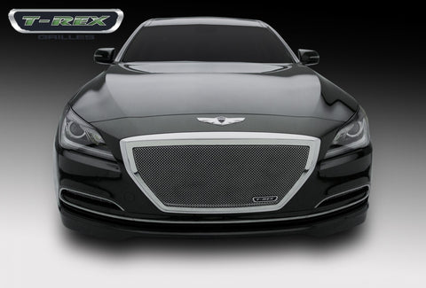 Genesis Grille 15-15 Hyundai Genesis Stainless Polished Upper Class Series T-REX Grilles
