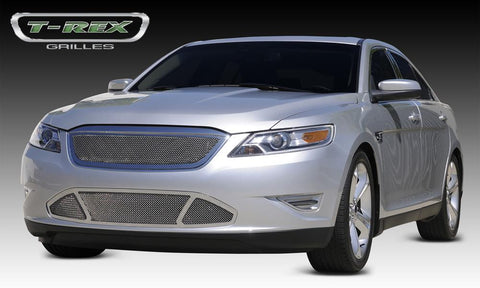 Taurus SHO Grille 10-12 Ford Taurus SHO Stainless Polished Upper Class Series T-REX Grilles