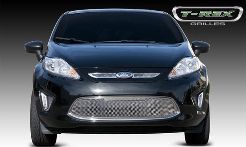 Fiesta Side Vent Grille 11-13 Ford Fiesta Stainless Polished 2 Piece Upper Class Series T-REX Grilles