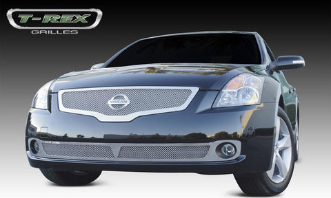 Altima Grille 07-09 Nissan Altima Stainless Polished Upper Class Series T-REX Grilles