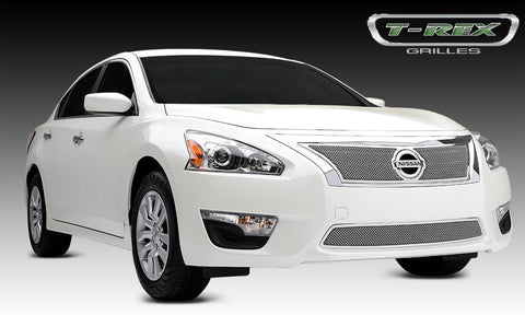 Altima 2.5 S Grille 13-15 Nissan Altima 2.5 S Stainless Polished Upper Class Series T-REX Grilles