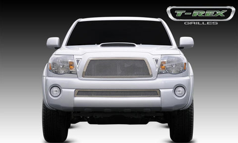 Tacoma Grille 11-11 Toyota Tacoma Stainless Polished Upper Class Series T-REX Grilles