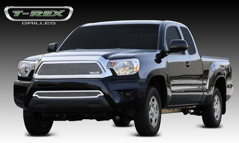 Tacoma Grille 12-15 Toyota Tacoma Stainless Polished Upper Class Series T-REX Grilles