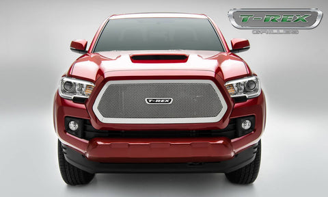 Tacoma Grille 16-17 Toyota Tacoma Stainless Polished Upper Class Series T-REX Grilles