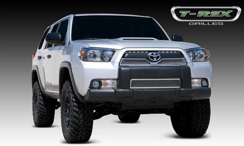 4Runner Grille 10-13 Toyota 4Runner Stainless Polished 3 Piece Upper Class Series T-REX Grilles