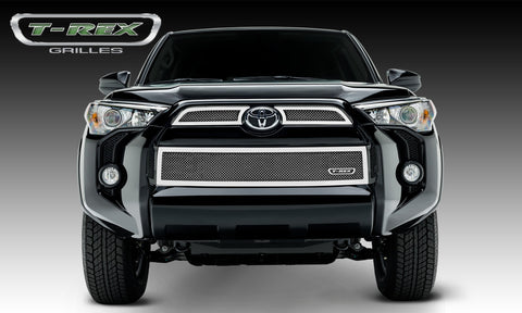 4Runner Grille 14-18 Toyota 4Runner Stainless Polished 3 Piece Upper Class Series T-REX Grilles