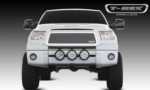Tundra Grille 10-13 Toyota Tundra Stainless Polished Mesh T-REX Grilles