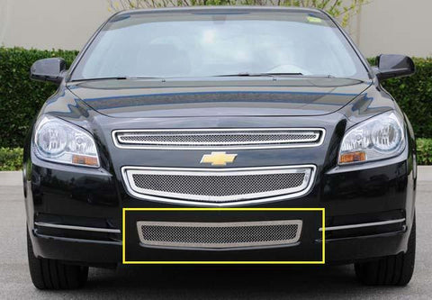 Malibu Grille 08-12 Chevrolet Malibu Stainless Polished Upper Class Series T-REX Grilles