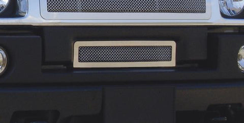 H2 Bumper Grille 03-07 Hummer H2 Stainless Polished Upper Class Series T-REX Grilles