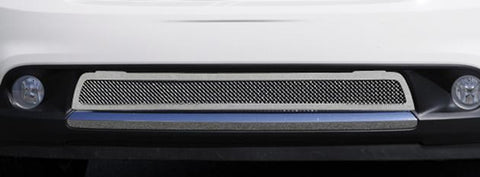 Durango Bumper Grille 11-13 Dodge Durango Stainless Polished Upper Class Series T-REX Grilles