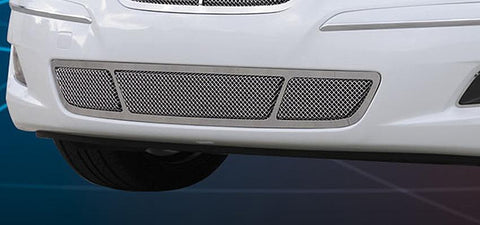 Genesis Sedan Bumper Grille 09-11 Hyundai Genesis Sedan W/O Tech Stainless Polished Upper Class Series T-REX Grilles
