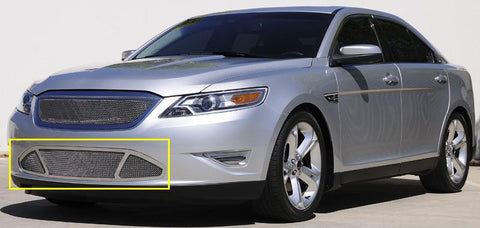 Taurus SHO Bumper Grille 10-12 Ford Taurus SHO Stainless Polished Upper Class Series T-REX Grilles