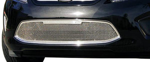 Fiesta Bumper Grille 11-13 Ford Fiesta Stainless Polished 1 Piece Upper Class Series T-REX Grilles