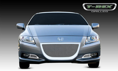 CR-Z Bumper Grille 12-12 Honda CR-Z Stainless Polished 3 Piece Upper Class Series T-REX Grilles