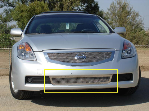 Altima Coupe Bumper Grille 08-09 Nissan Altima Coupe Stainless Polished Upper Class Series T-REX Grilles