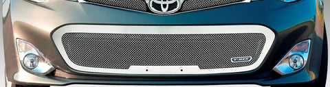 Avalon Bumper Grille 13-13 Toyota Avalon Stainless Polished Upper Class Series T-REX Grilles