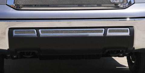Tundra Bumper Grille 10-13 Toyota Tundra Stainless Polished 3 Piece T-REX Grilles