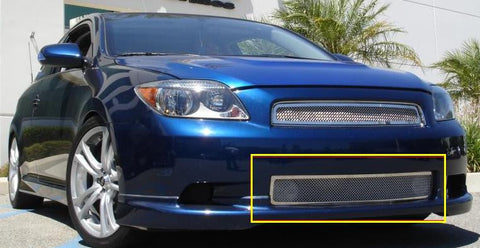 Scion TC Bumper Grille 05-07 Scion Scion TC Stainless Polished Upper Class Series T-REX Grilles