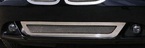 BMW Bumper Grille 04-11 BMW 6 Series Coupe Stainless Polished Upper Class Series T-REX Grilles