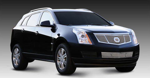 SRX Grille 10-16 Cadillac SRX 3 Window Design W/OE Logo Plate Stainless Chrome Upper Class Series T-REX Grilles