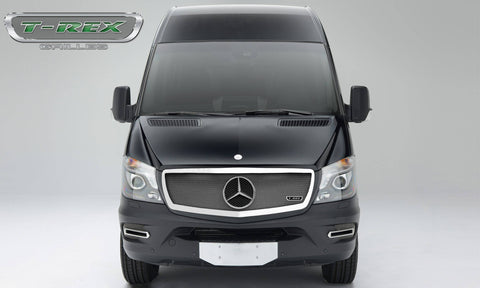 Sprinter Grille 14-15 Mercedes Sprinter Stainless Polished Upper Class Series T-REX Grilles