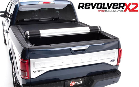BAK Revolver X2 Tonneau Cover - GMC Sierra 1500 2004-2013 5.8 ft Bed - Auto-Truck-Accessories  - 1