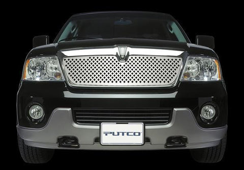 Designer FX Diamond Stainless Steel Grille by Putco - Auto-Truck-Accessories