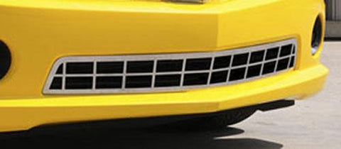 Camaro Bumper Grille 10-13 Chevrolet Camaro SS Stainless Polished T-REX Grilles