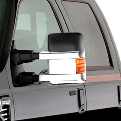 Restyling Ideas bottom half mirror covers for F250 2008-2016 Ford Super duty - Auto-Truck-Accessories  - 1