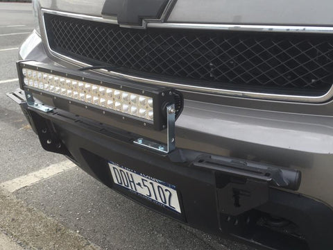 07-13 Chevy Tahoe / Suburban / Avalanche Light Bar With Multi-Mount For Led Lights