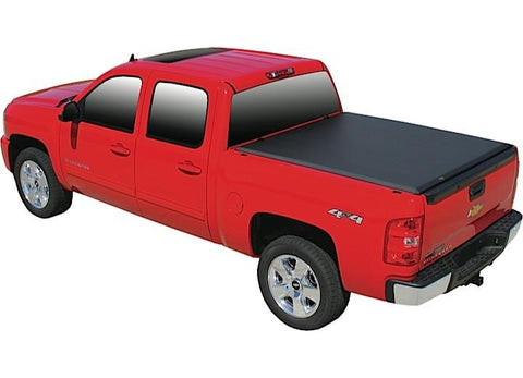 Truck tonneau cover by Access. Soft Roll Up for 2014-2017 Silverado and Sierra 5FT 8 IN BED