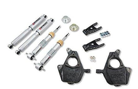 Belltech Lowering Kit For Chevy Colorado And Gmc Canyon