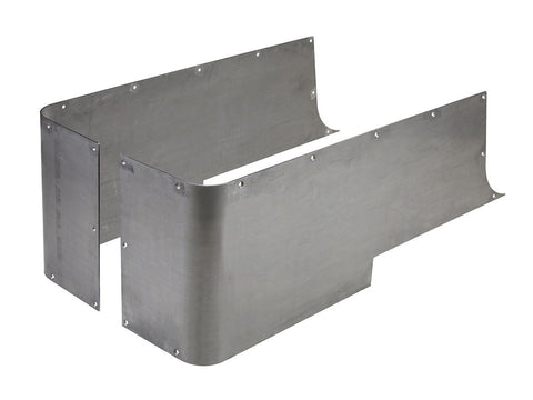 Jeep Corner Guard Blanks 3/16 Inch Steel Full GenRight - Auto-Truck-Accessories