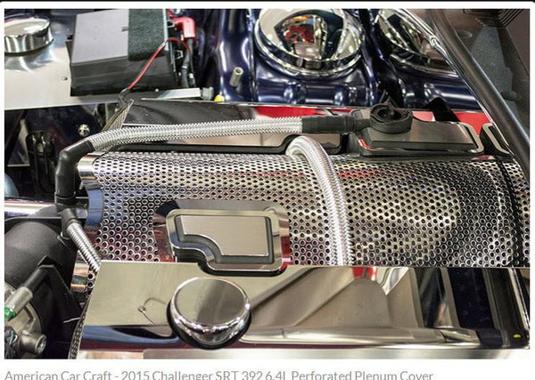 2015 Challenger Srt 392 6 4l Perforated Plenum Cover