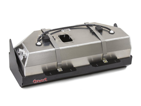 Jeep YJ EXT Gas Tank 17 Gal W/Skid Plate 5 Inch Stretch GenRight - Auto-Truck-Accessories
